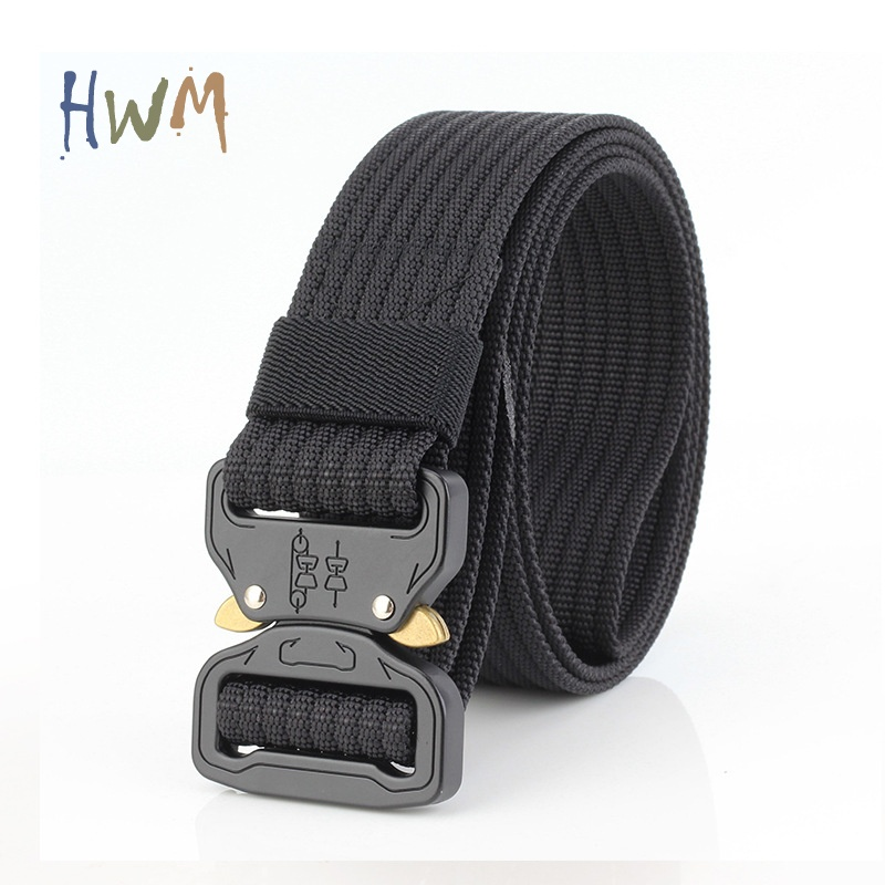 Multifunctional Nylon Outdoor Military Training Belt 3.8CM