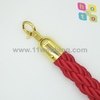 Red Twisted Rope for Hote Crowd Control Queue Barrie Post Stanchion