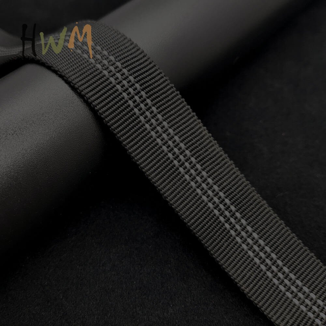 1 Inch Tubular Webbing with Reflective Stripe