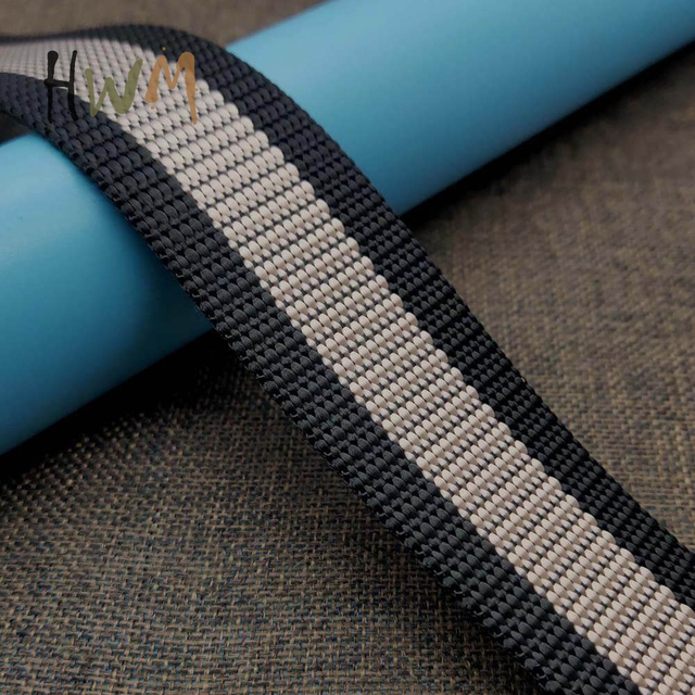 Stripe Webbing for Students Belt, Outdoor Belt, Fashion Belt