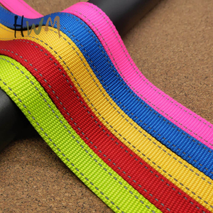 Reflective Nylon Pet Webbing for Dog Leash and Collar
