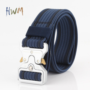Silver Cobra Buckle Student Military Training Belt