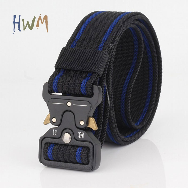 Cobra Buckle Nylon Webbing Belts 38MM