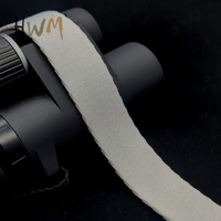 1 Inch Polyester Twill Webbing in White