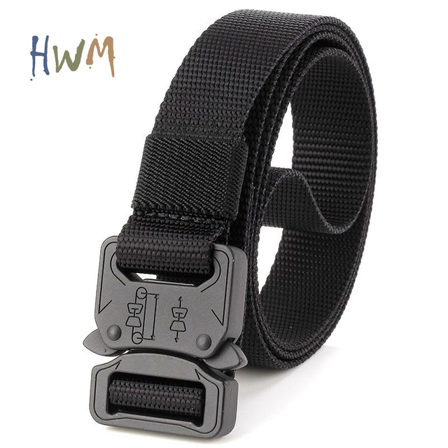 2.5cm Cobra Casual Nylon Belt
